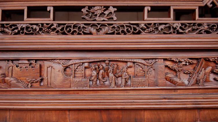 苏作木雕三匠师